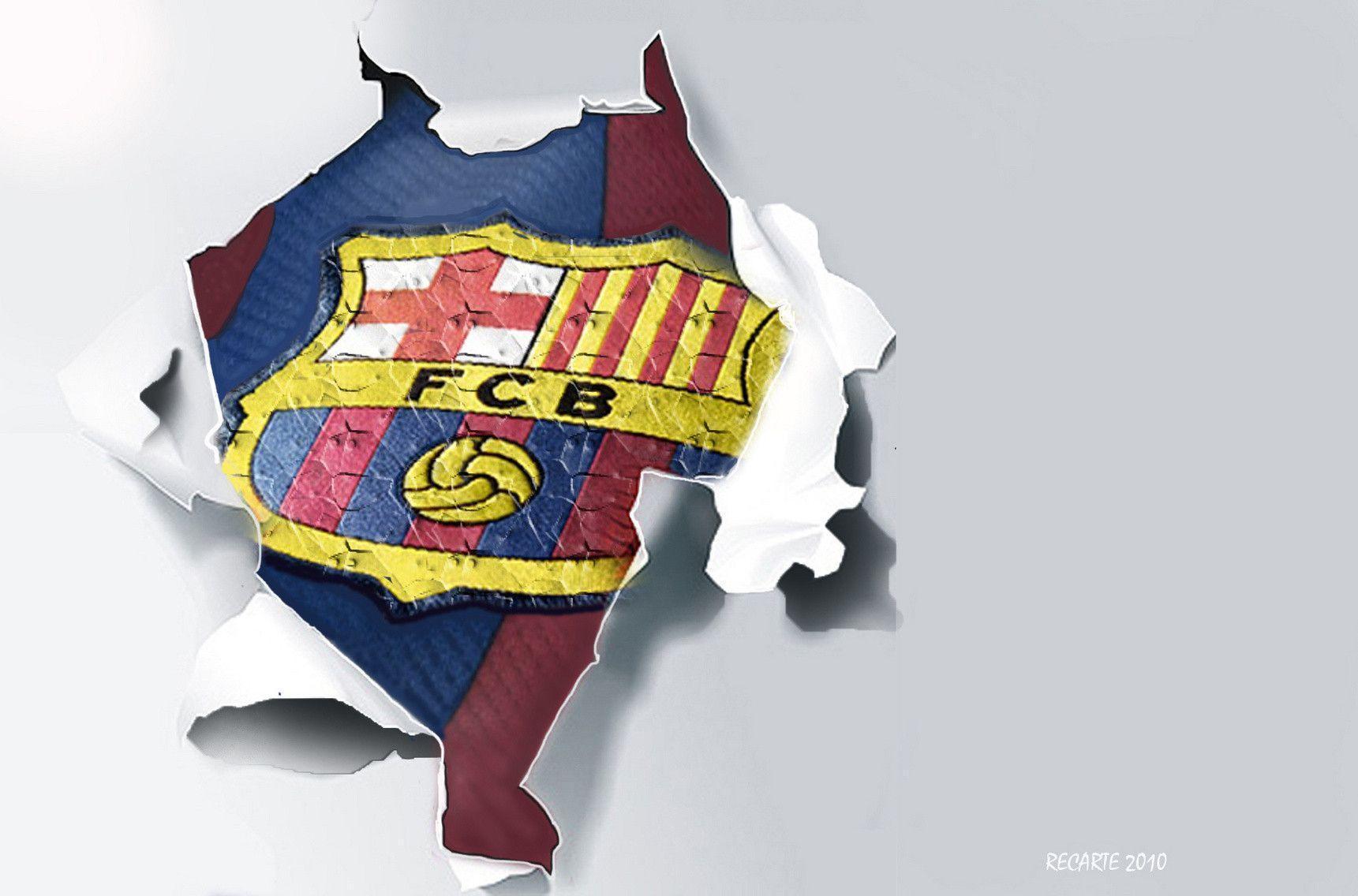 FC Barcelona Logo Wallpaper - FC Barcelona Fan Art (22614266) - Fanpop