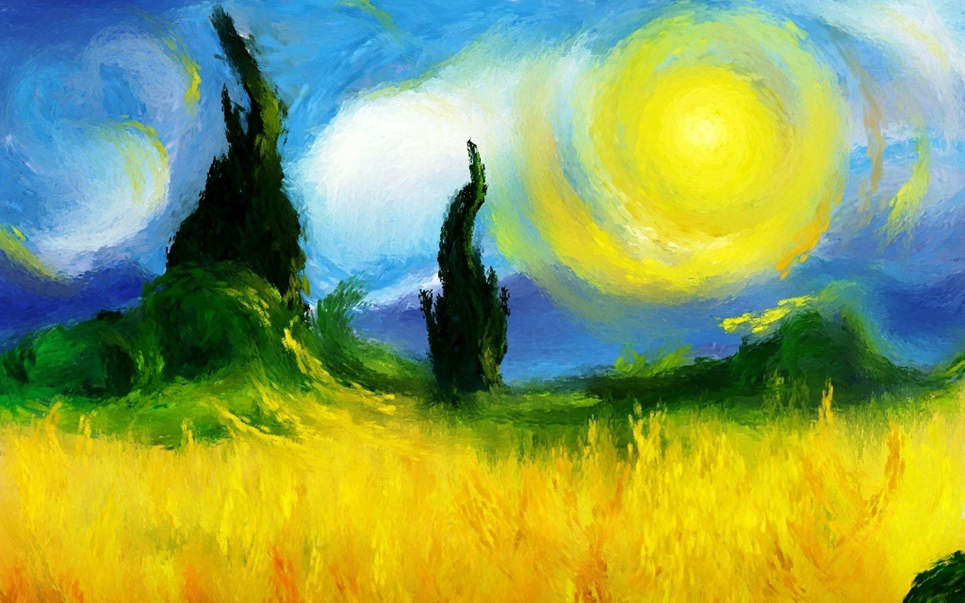 Impressionist Wallpaper