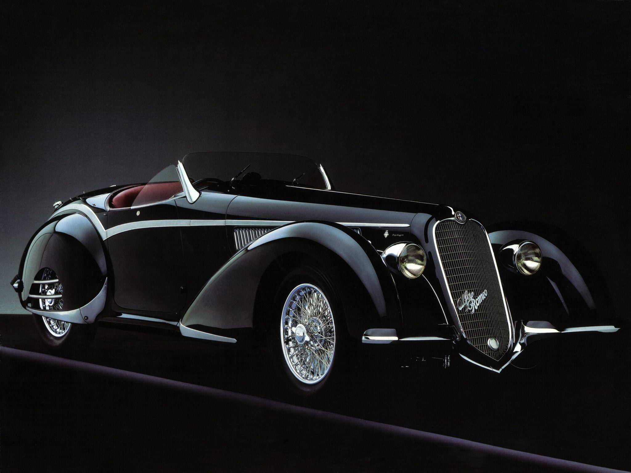 HD Alfa Romeo 8c 2900b Spider &Wallpapers