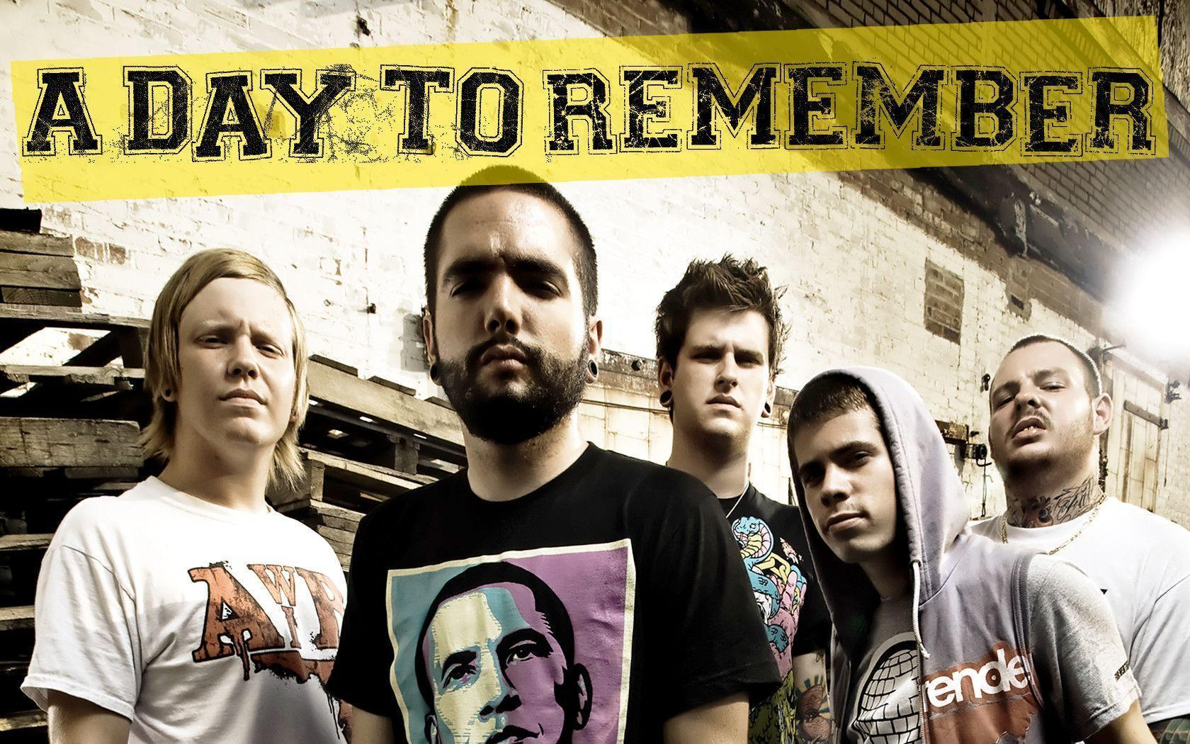 Download Music A Day To Remember Wallpapers 1680x1050