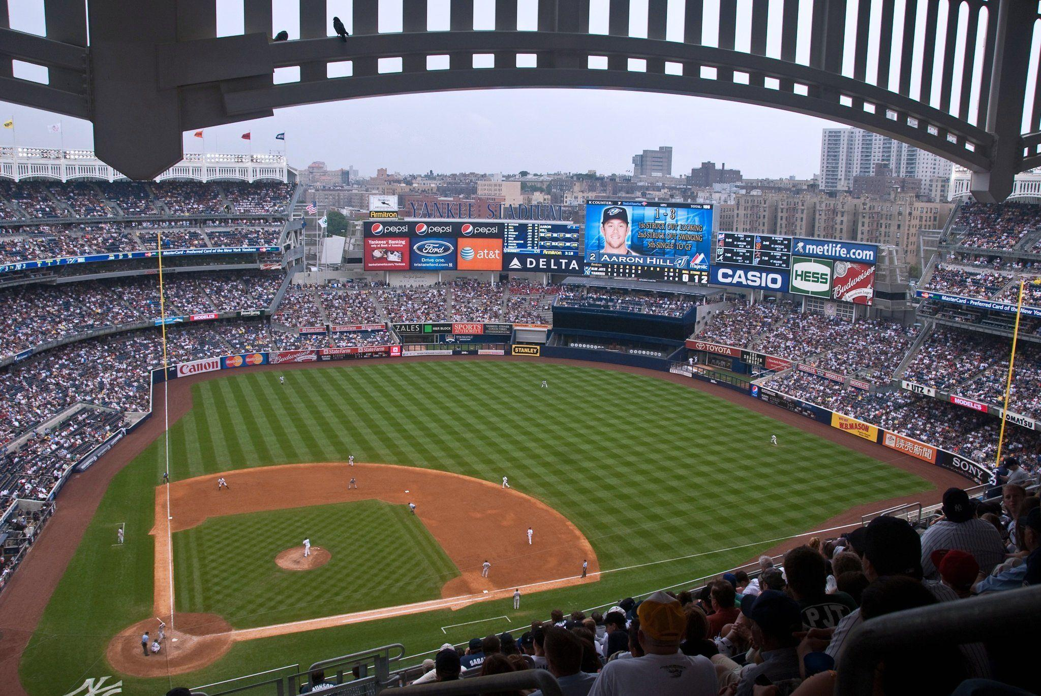 Yankee Stadium Wallpapers Wallpaper Cave