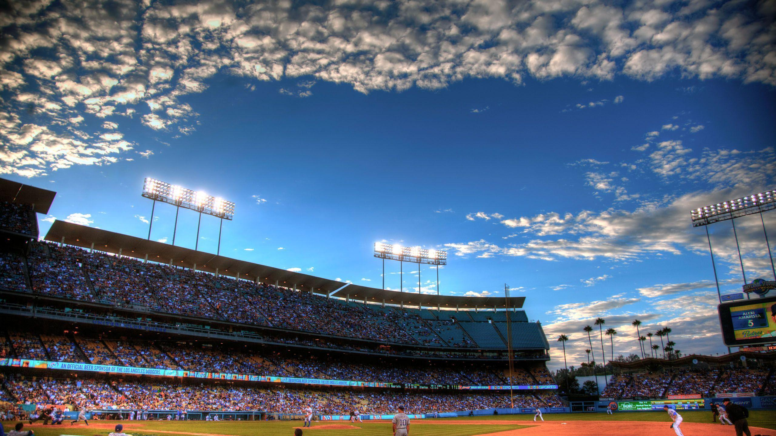 Dodgers Stadium Wallpapers - Wallpaper Cave