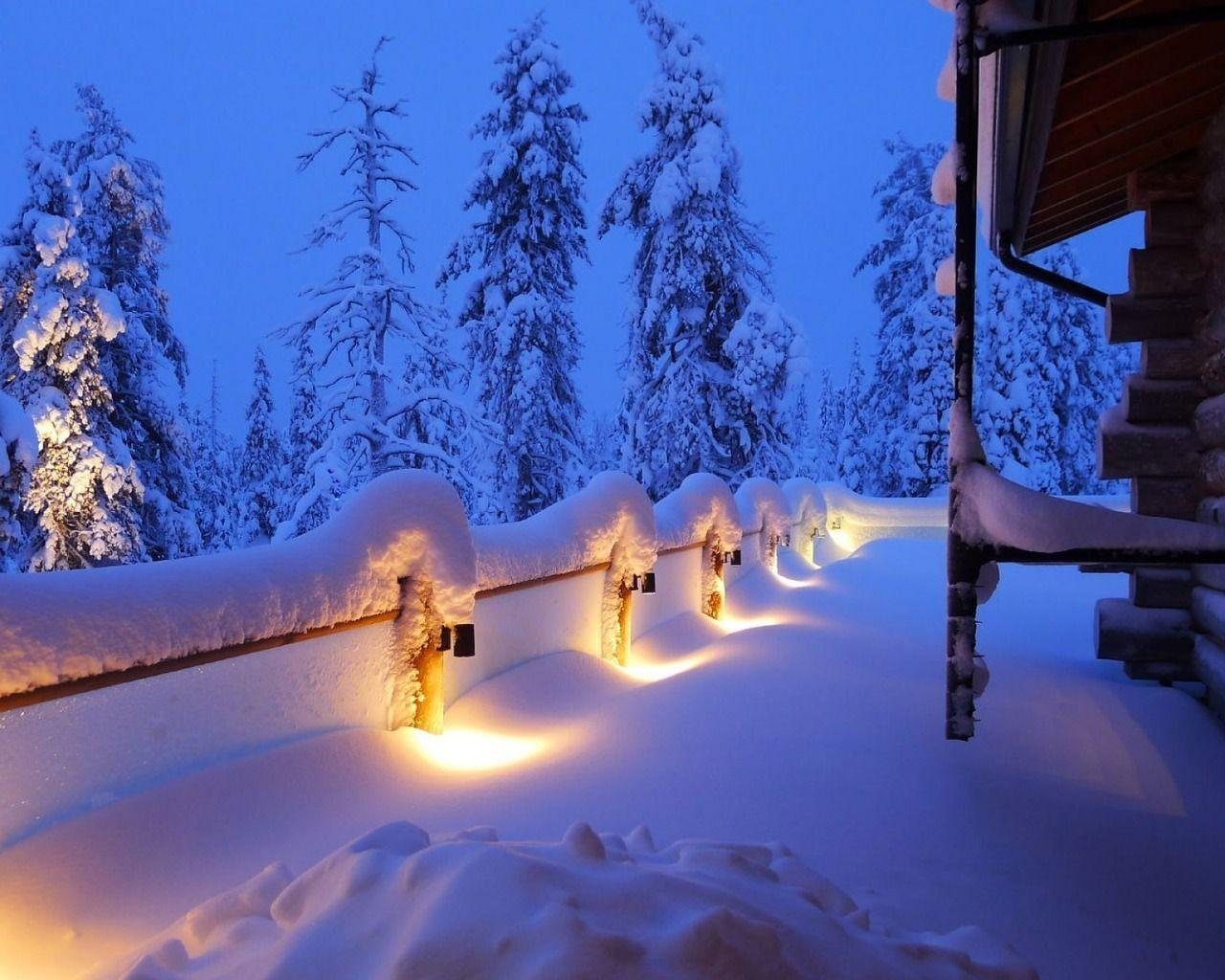 Winter landscapes wallpapers wallpaper cave Beautiful snowfall pictures