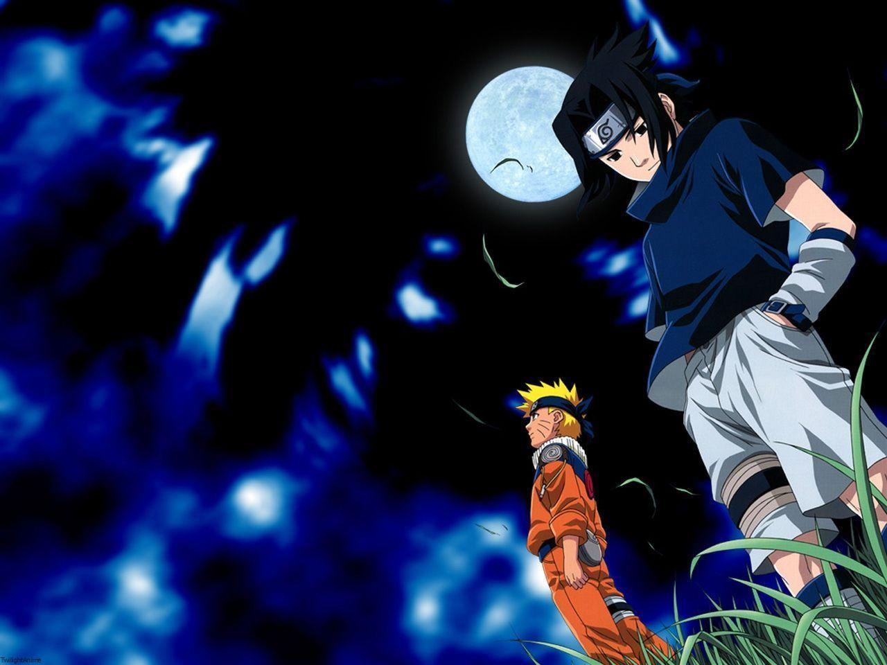 Cartoon Wallpaper Sasuke Vs Itachi Wallpaper: Sasuke And Naruto Wallpapers