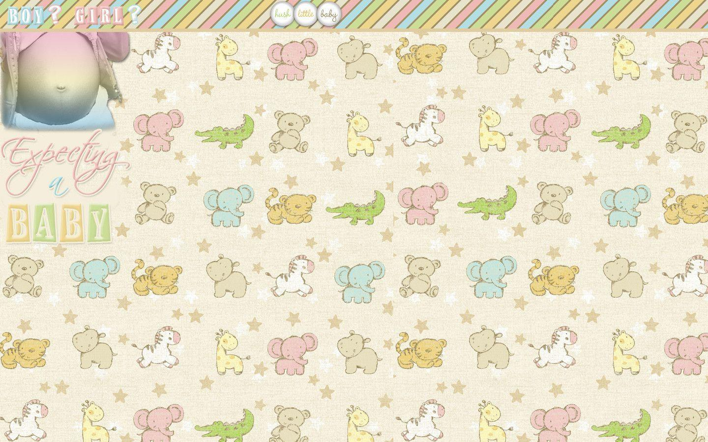 Wallpapers For Unisex Baby Background