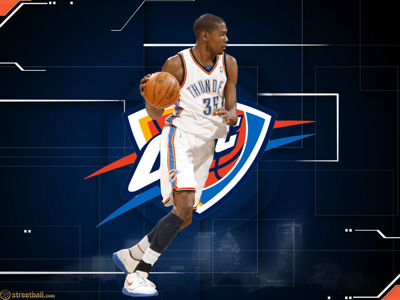 Kevin Durant Thunder Wallpapers - Wallpaper Cave