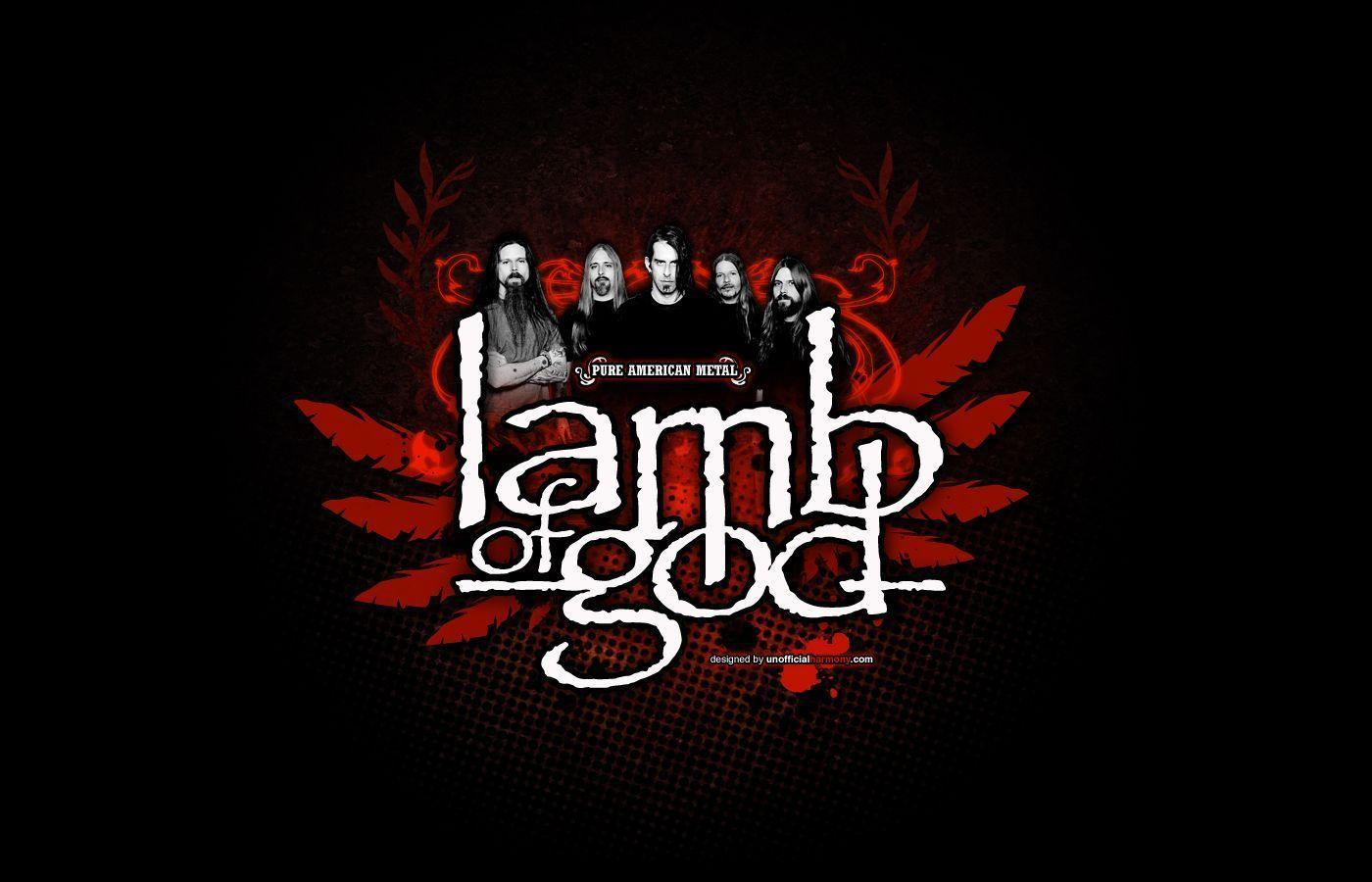 Lamb Of God Wallpaper 1400x900 by unofficialharmony on DeviantArt