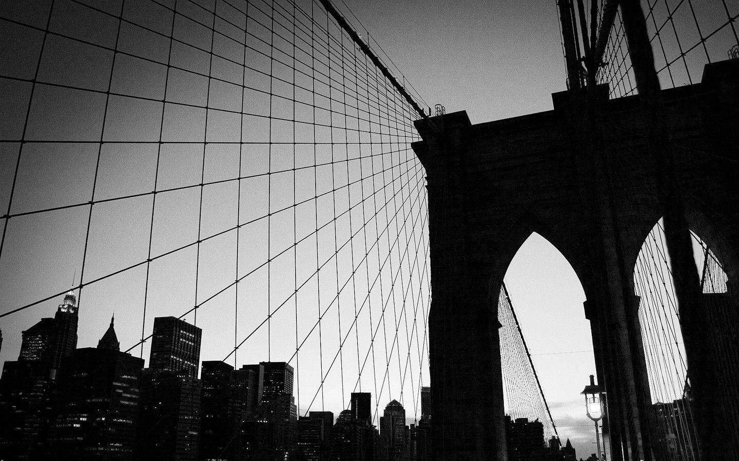 Brooklyn Bridge Computer Wallpapers, Desktop Backgrounds 1440x900