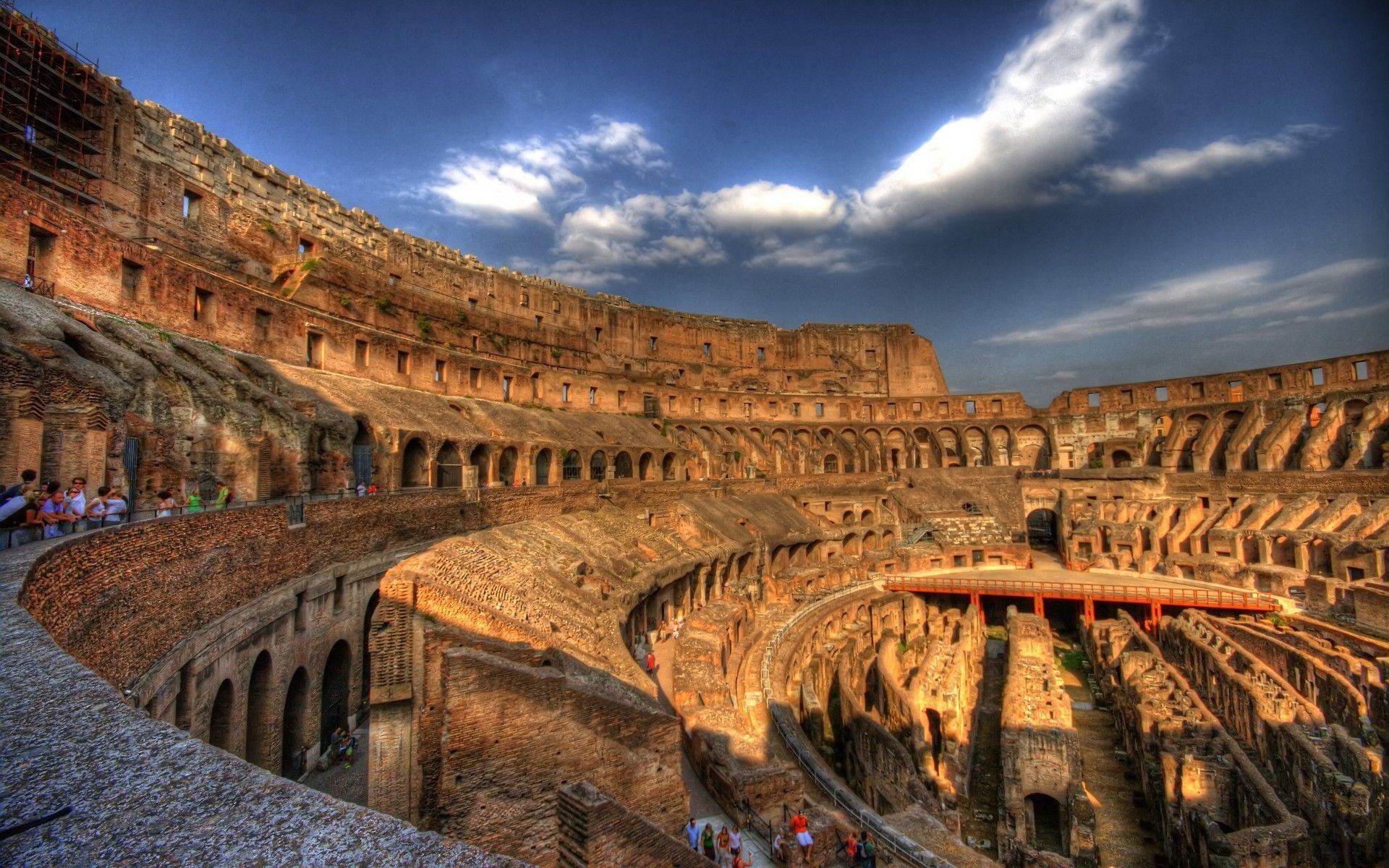 Roma Colosseum in Architecture - Wugange.