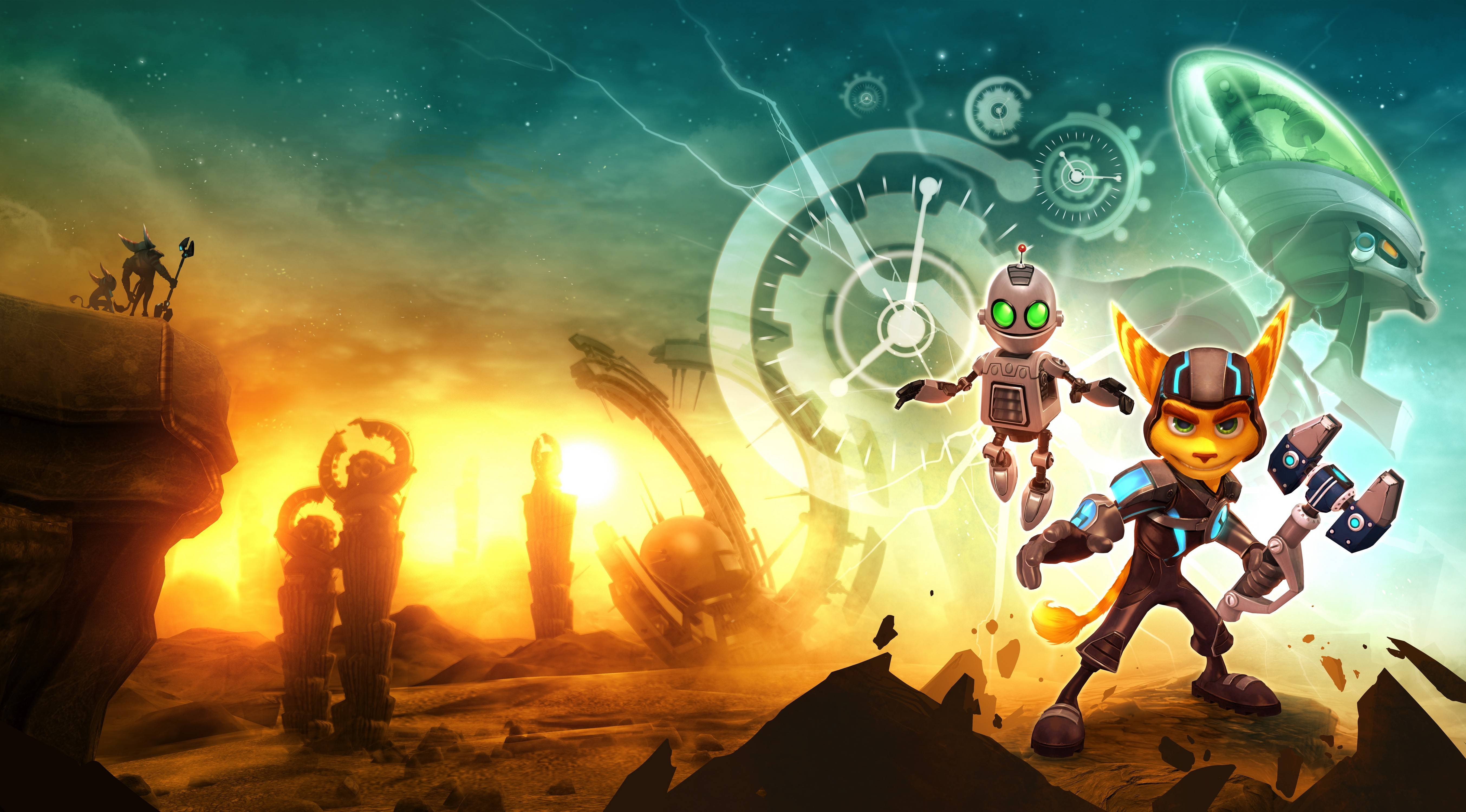 Ratchet and clank wallpapers wallpaper cave for Fond ecran ps4