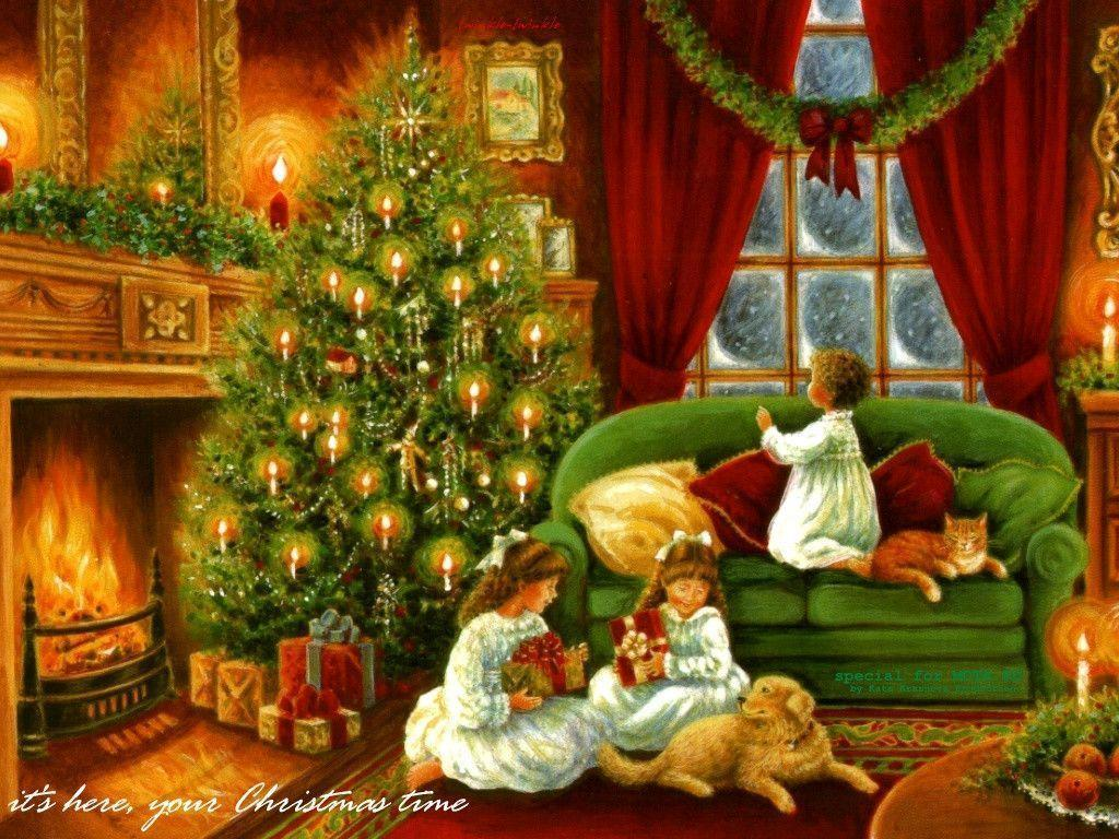 It is an image of Satisfactory Free Victorian Christmas Images