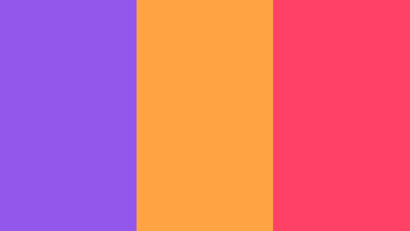 1360x768 Navy Purple Neon Carrot And Neon Fuchsia Three Color