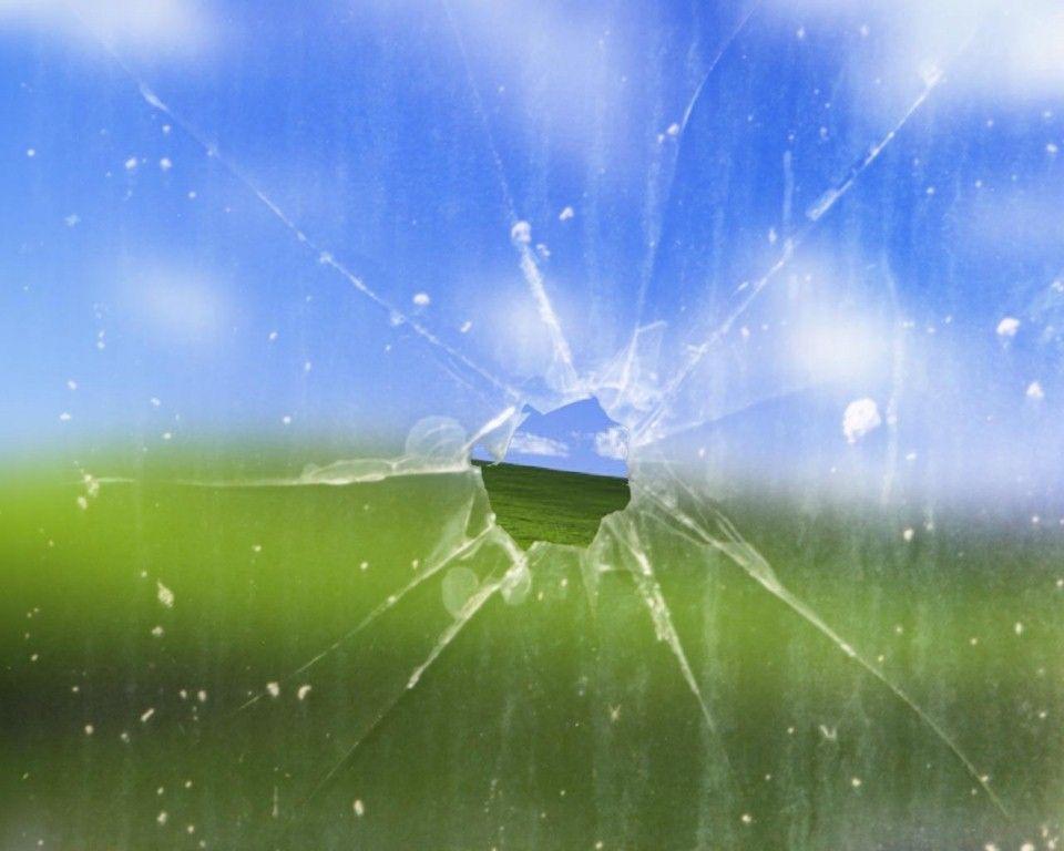 cracked screen wallpaper macbook - photo #13