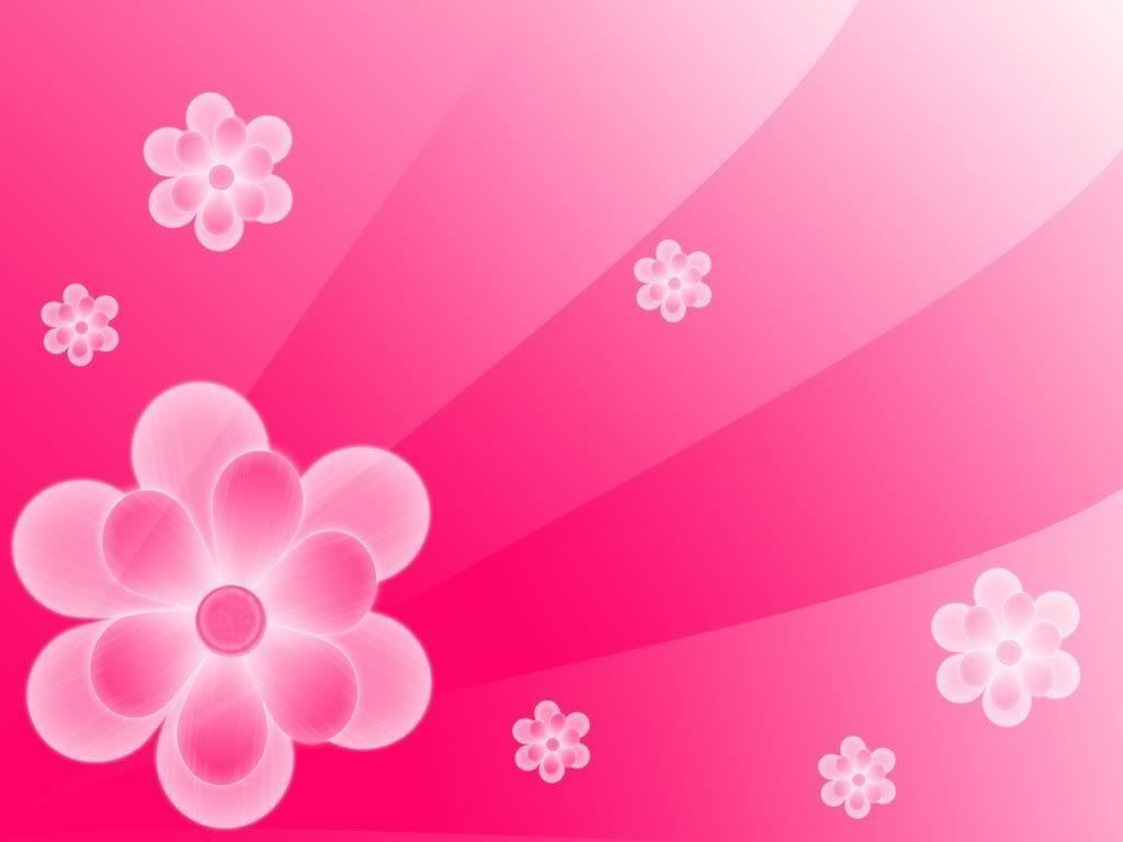 4k Pink Floral Thread Of Lights Title Intro Motion Background