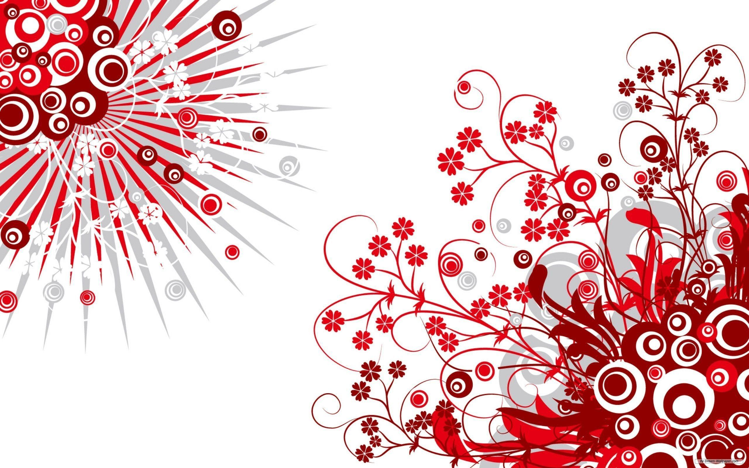 Wallpapers For > Red And White Background Hd