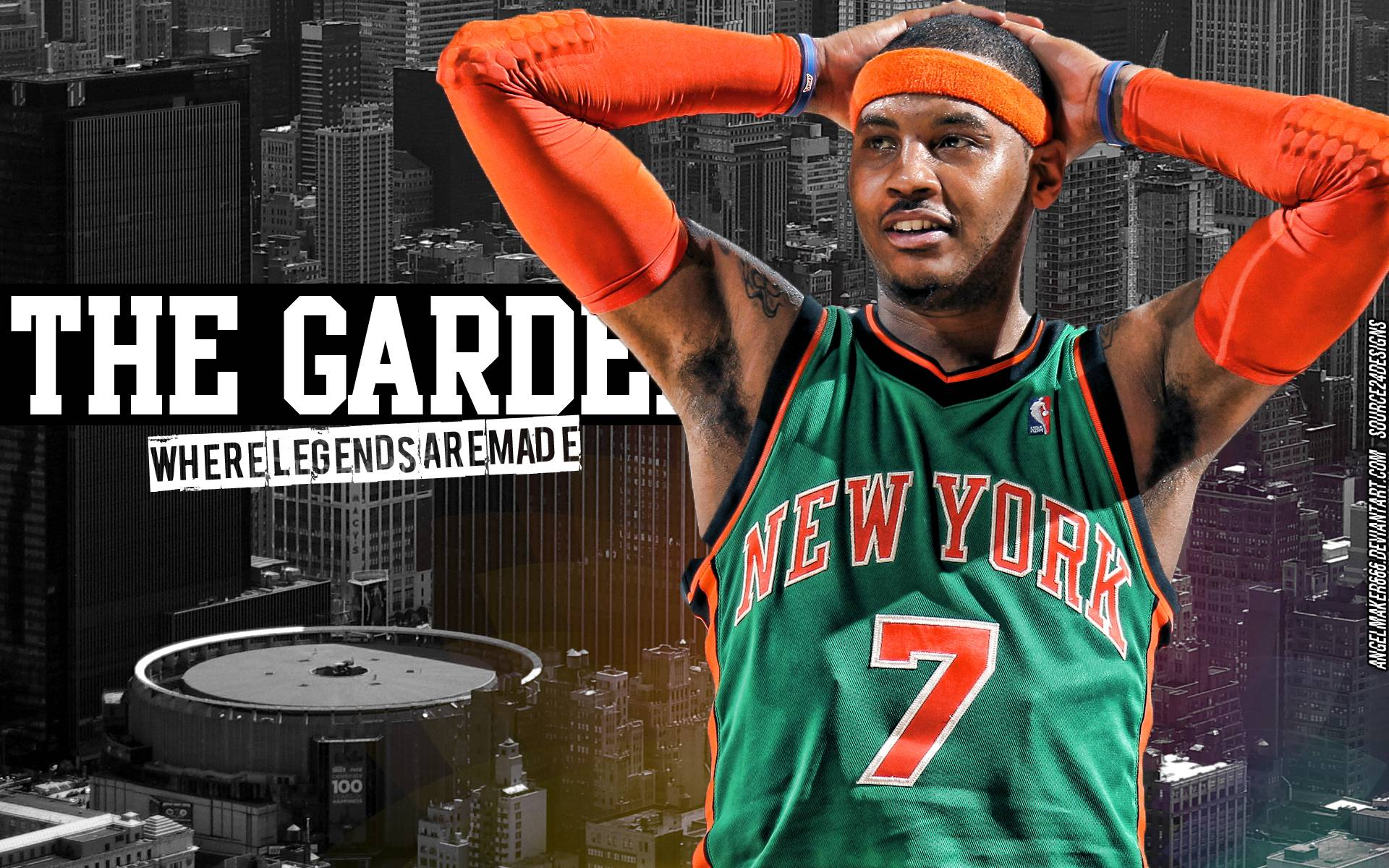 Carmelo Anthony Knicks Wallpapers - Wallpaper Cave