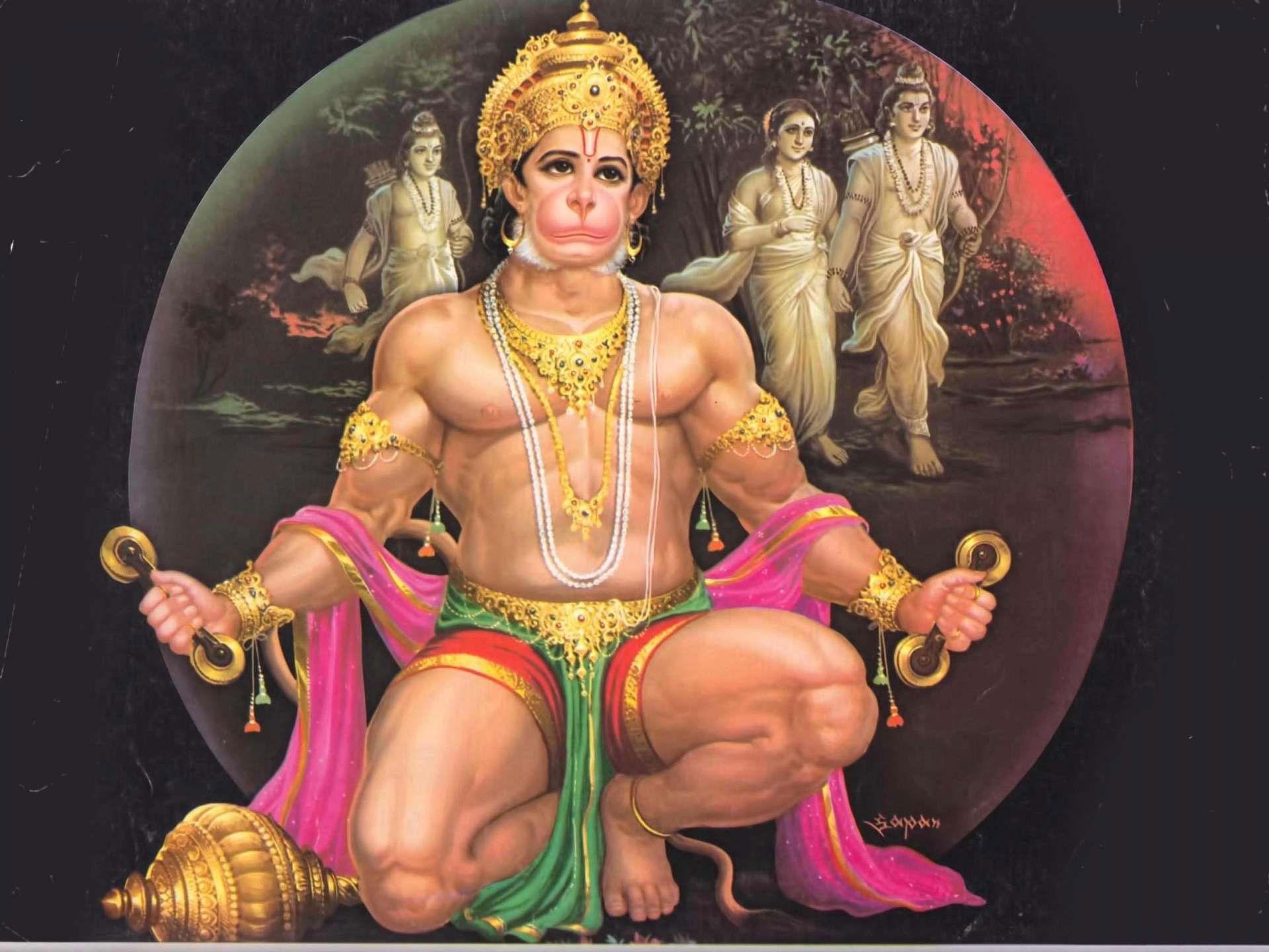 Free download desktop Lord Hanuman HD wallpaper, photos & images