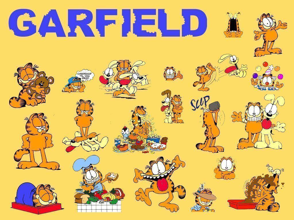 Garfield Desktop Wallpapers Wallpaper Cave