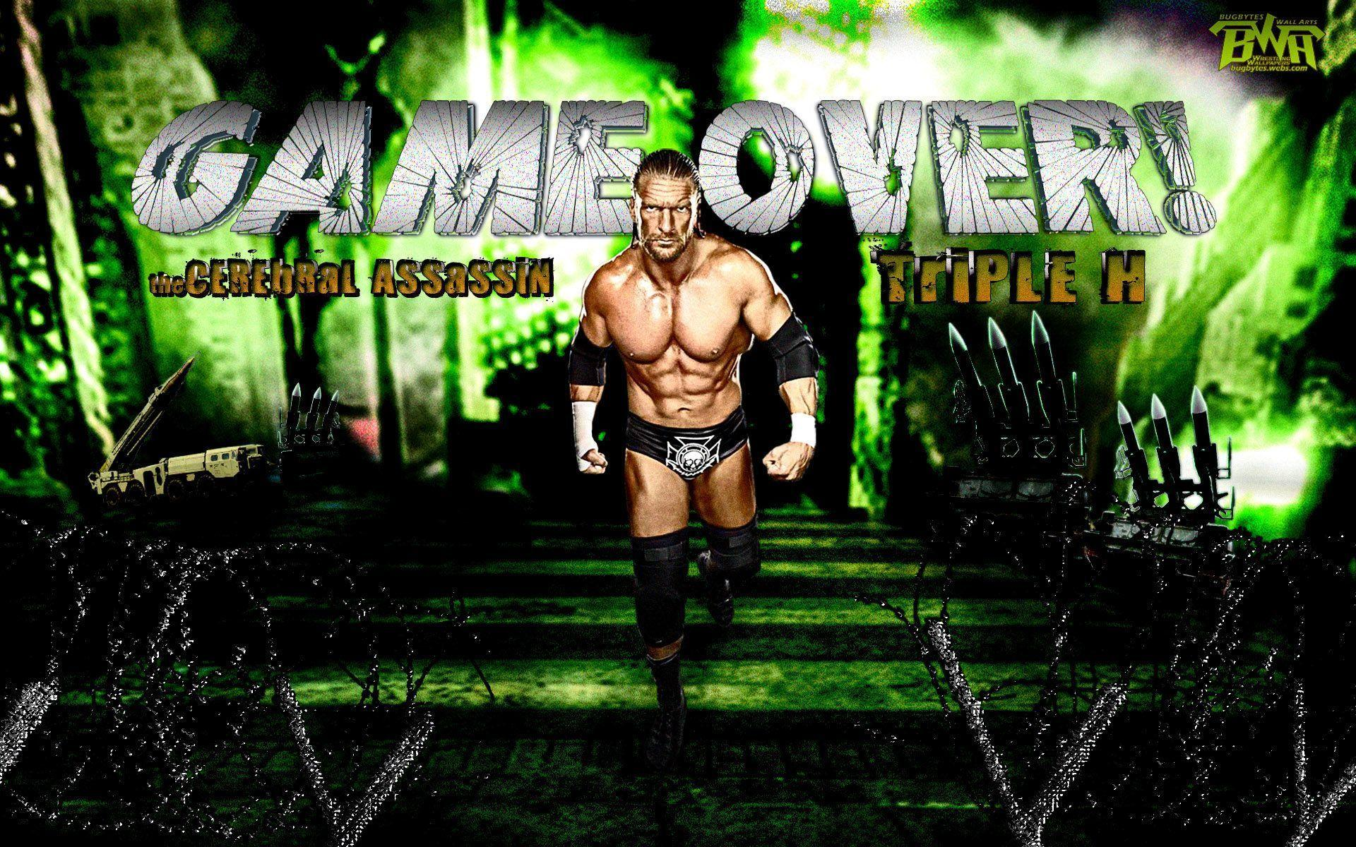 Wallpapers For > Wwe Triple H Wallpapers