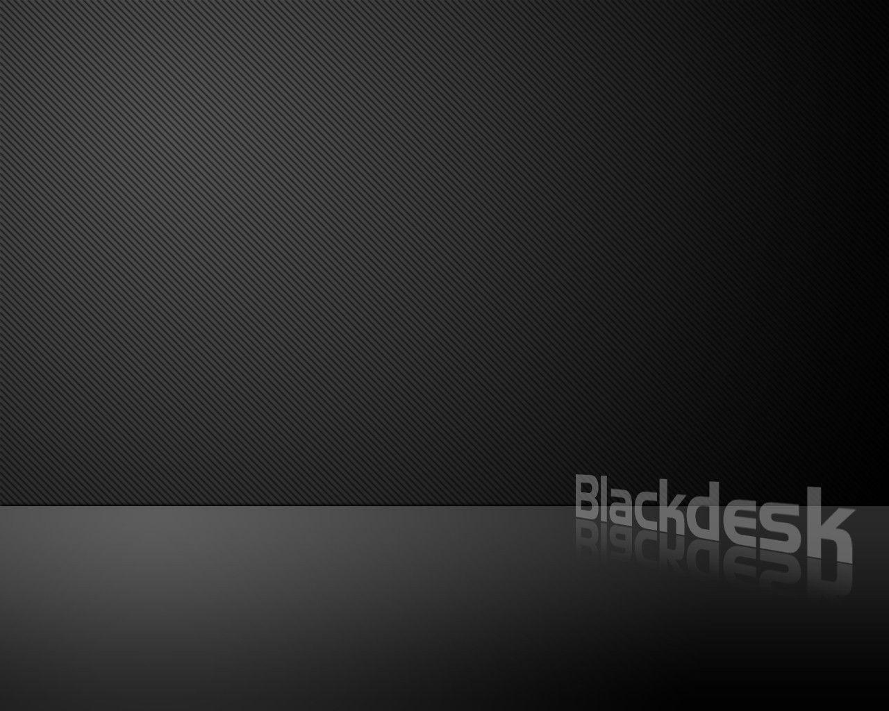 Download Black Carbon Desk Wallpapers 1280x1024