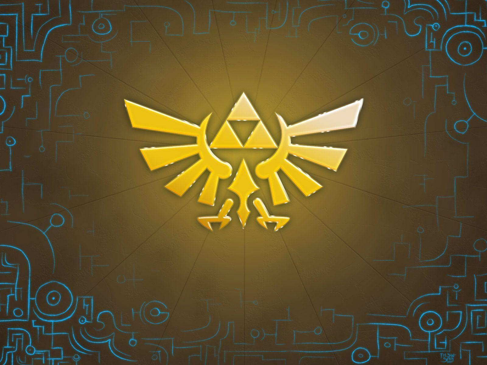 Legend Of Zelda Triforce Wallpapers Wallpaper Cave
