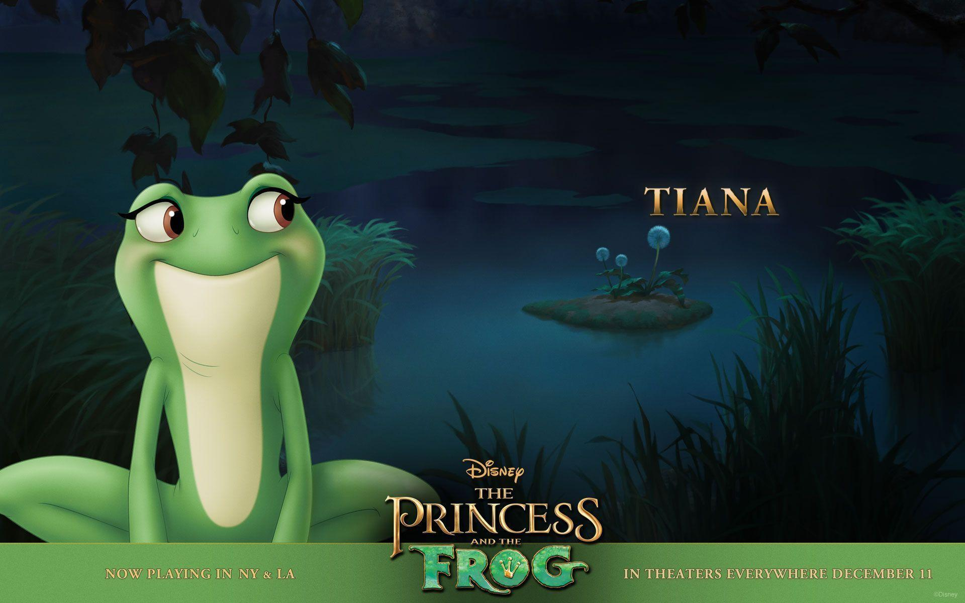 Disney The Princess and the Frog Wallpapers HD