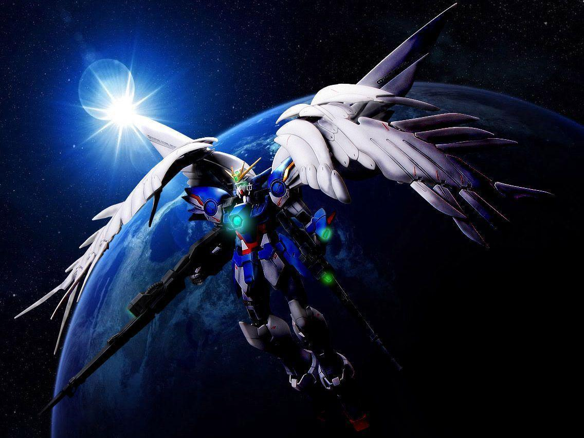 Related Pictures Wing Zero Custom Gundam Wallpapers 613845 Desktop