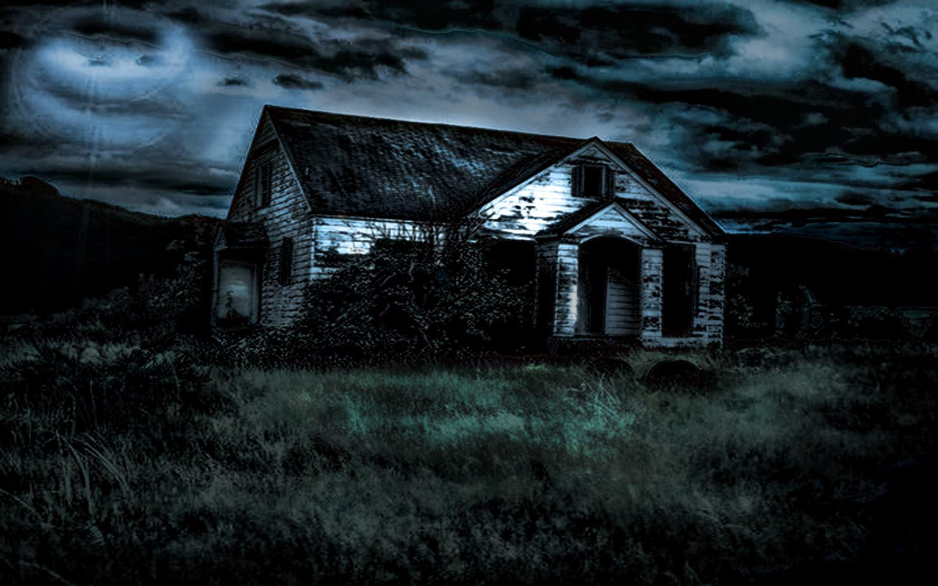 Scary house backgrounds wallpaper cave for Household wallpaper
