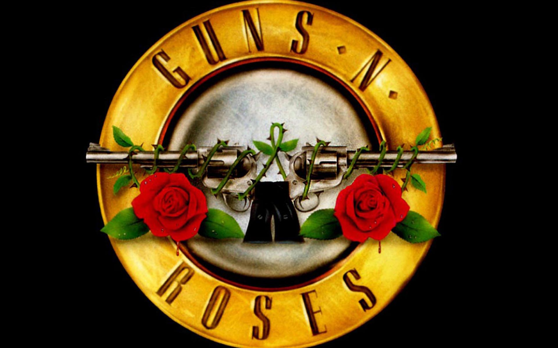 Image result for Guns and roses logo