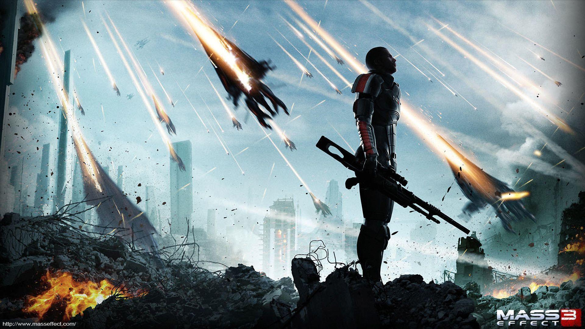 Mass Effect 3 Desktop Backgrounds