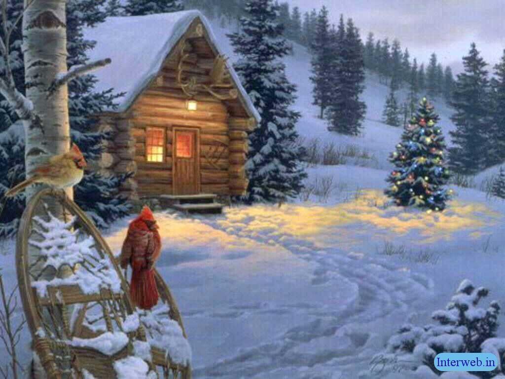 Christmas Scene Screensaver Wallpaper: Screensavers Backgrounds