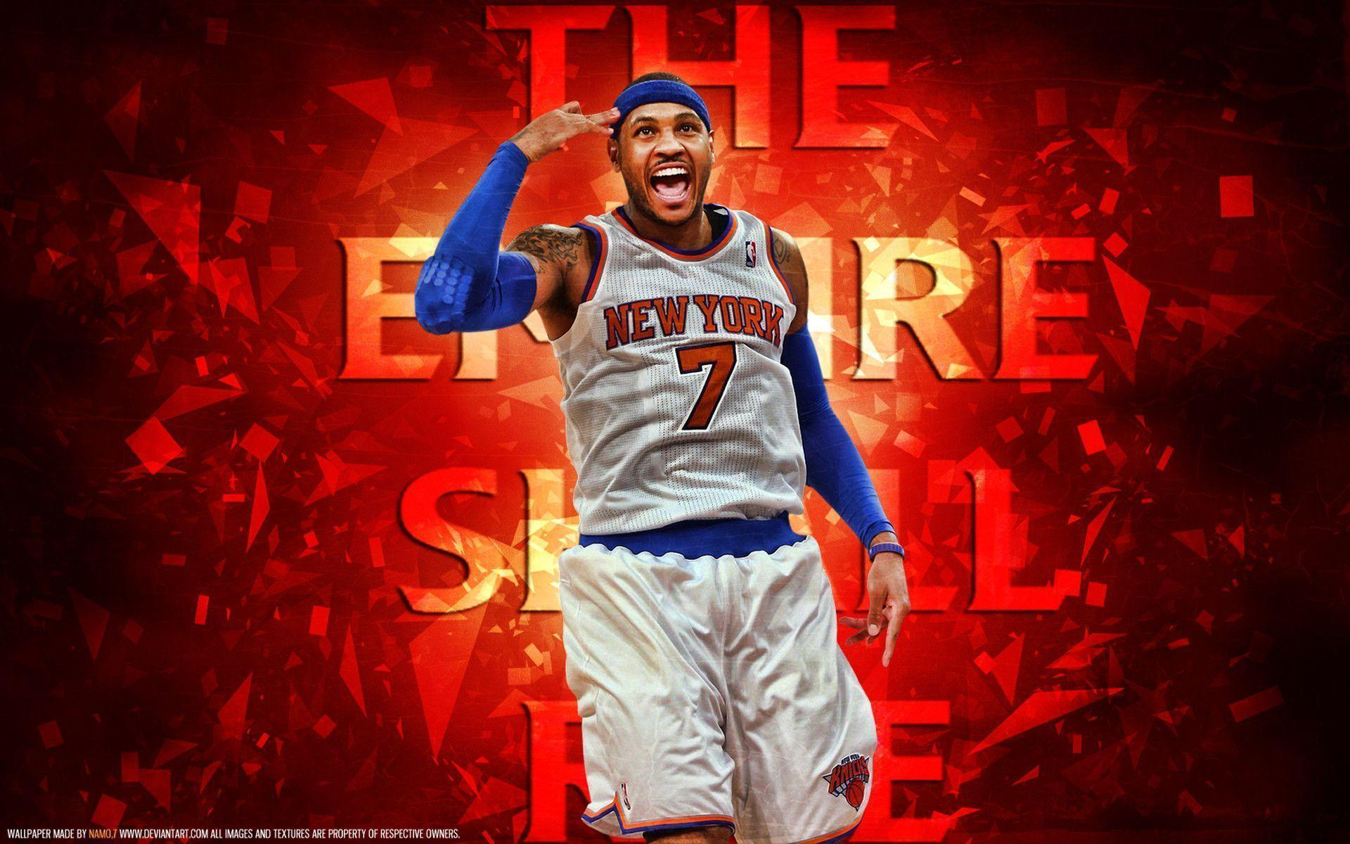 Image For > Carmelo Anthony Wallpapers Iphone