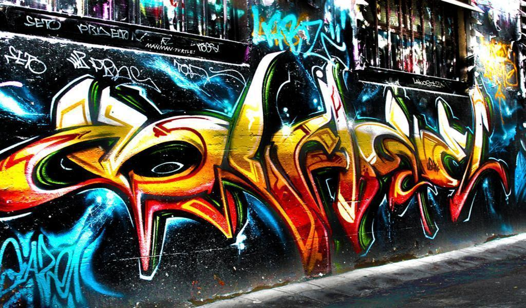 Hip Hop Graffiti Wallpaper