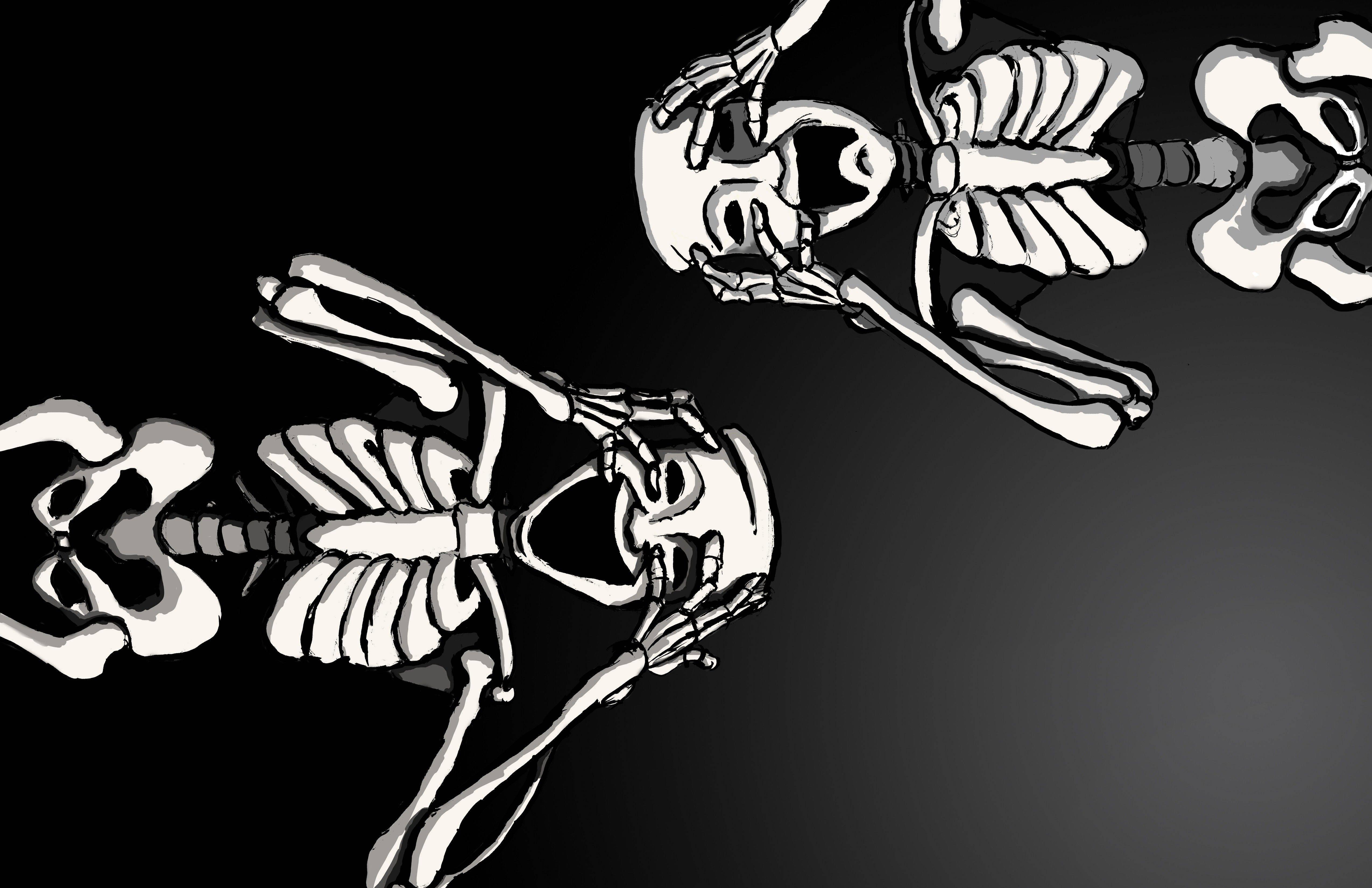 skeleton wallpapers wallpaper cave