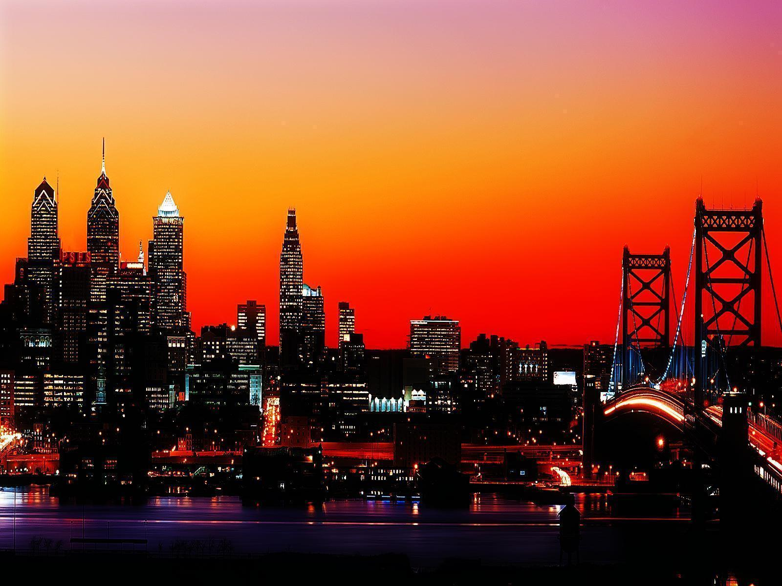 philadelphia skyline wallpaper - photo #9