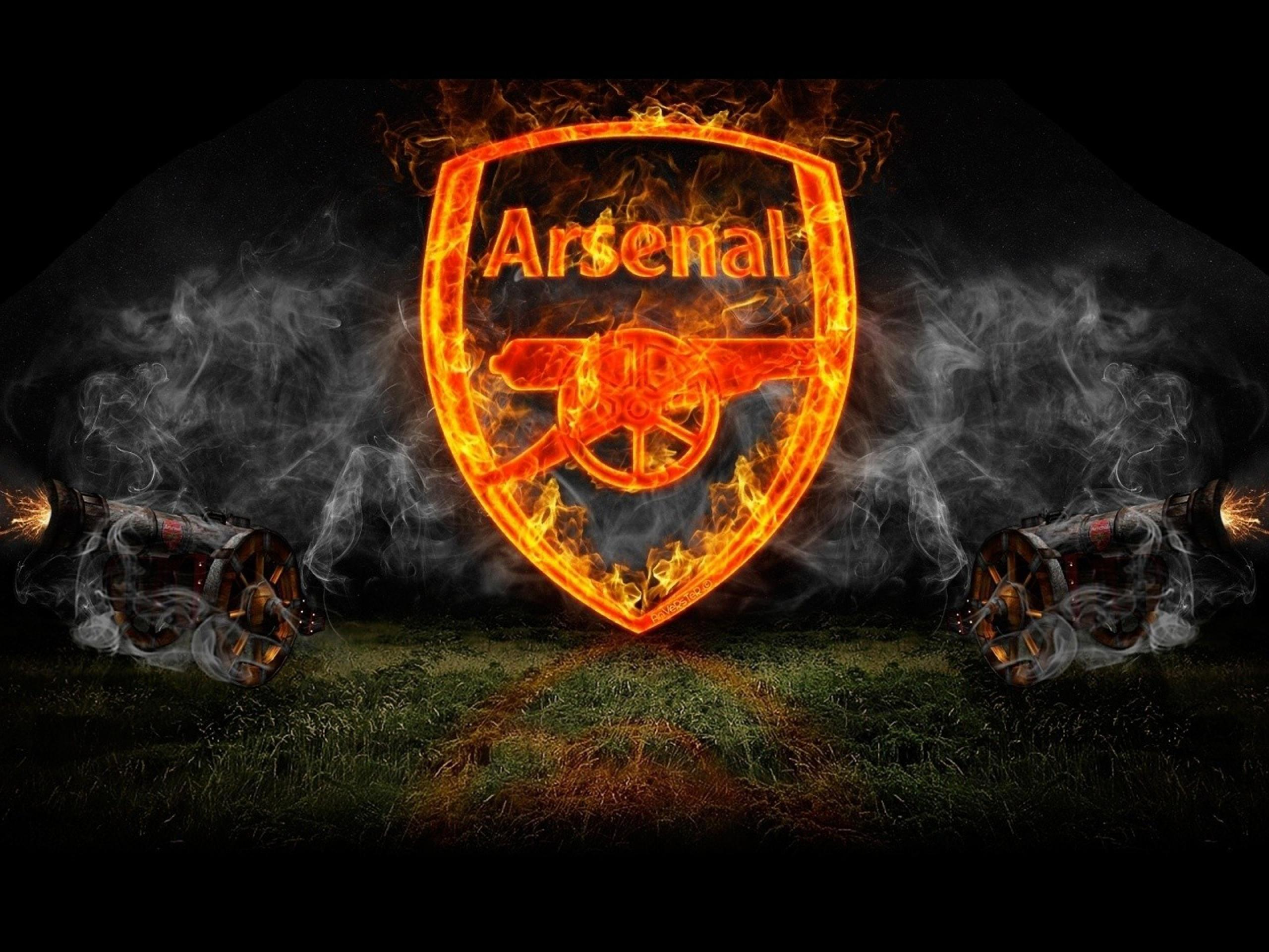 Arsenal Logo Full HD Wallpaper - Football HD Wallpapers