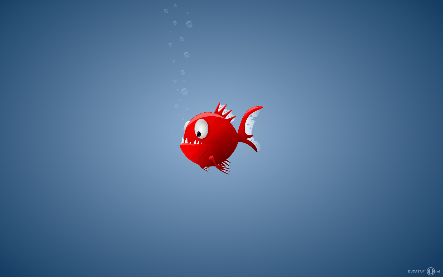 Download Red Fish Wallpapers 1680x1050