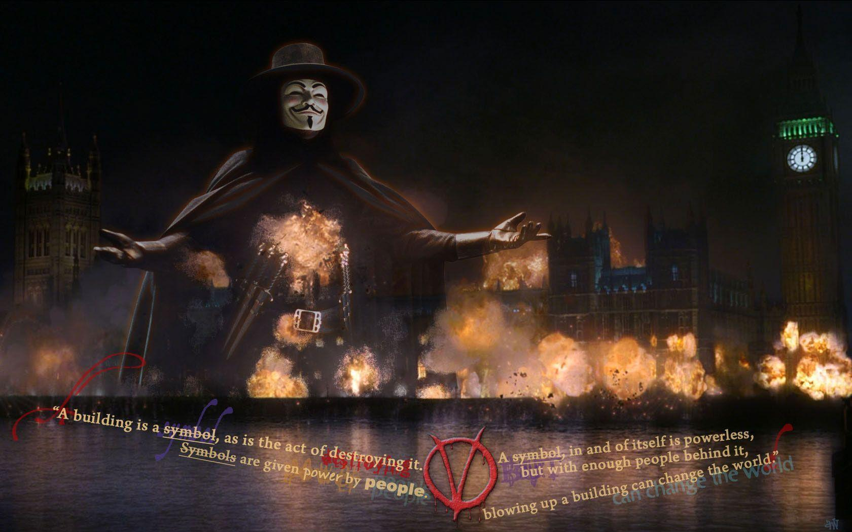 Free Wallpapers - Free v for vendetta wallpapers