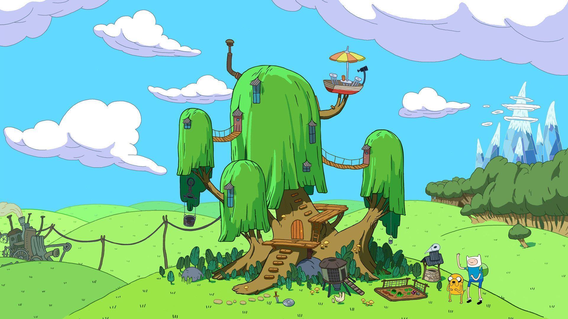 Adventure Time Desktop Backgrounds - Wallpaper Cave