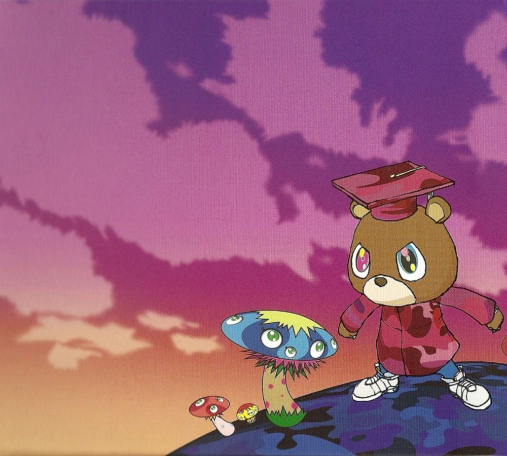 Pix For > Kanye West Graduation Wallpapers
