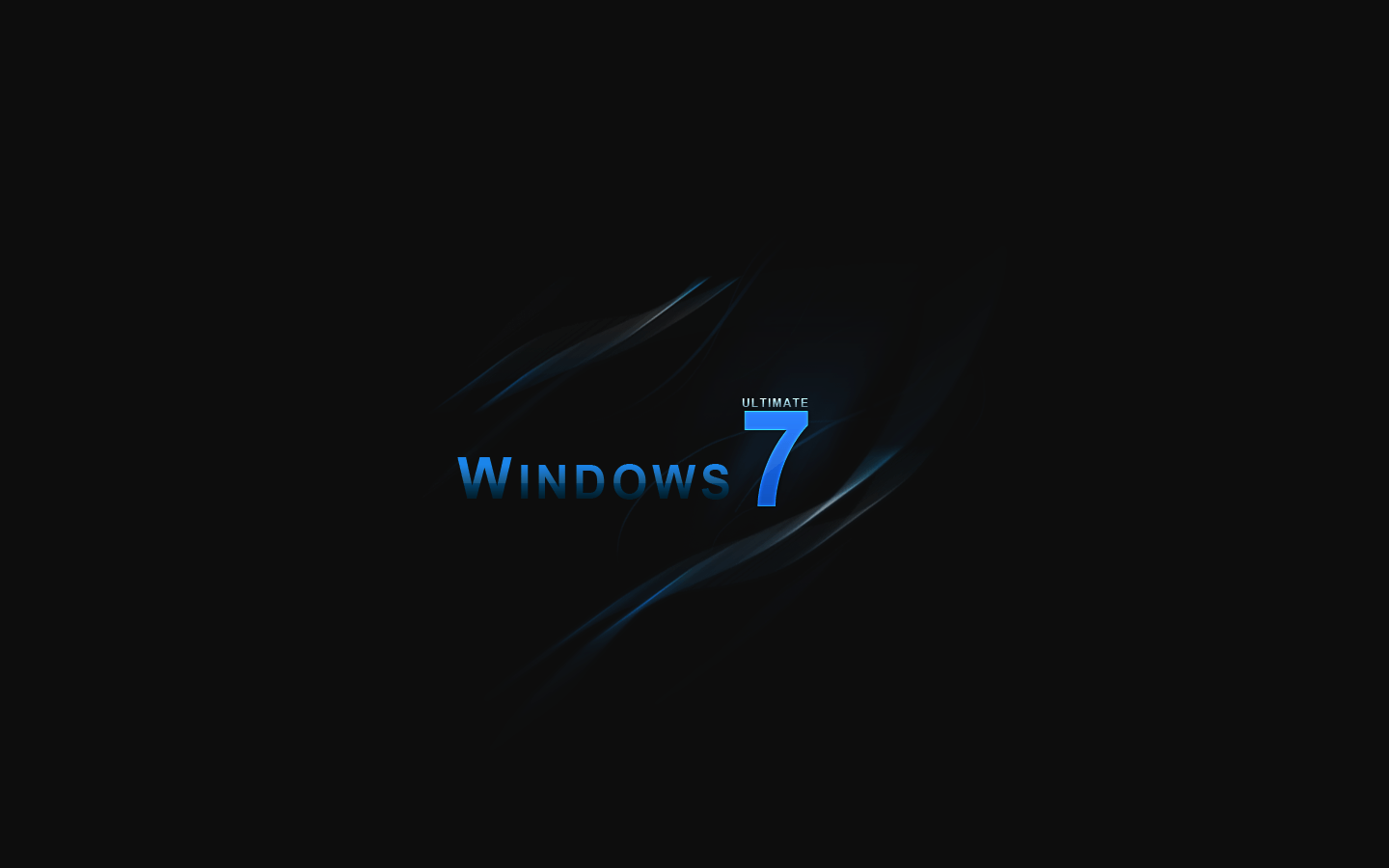Windows 7 Black Wallpapers - Wallpaper Cave
