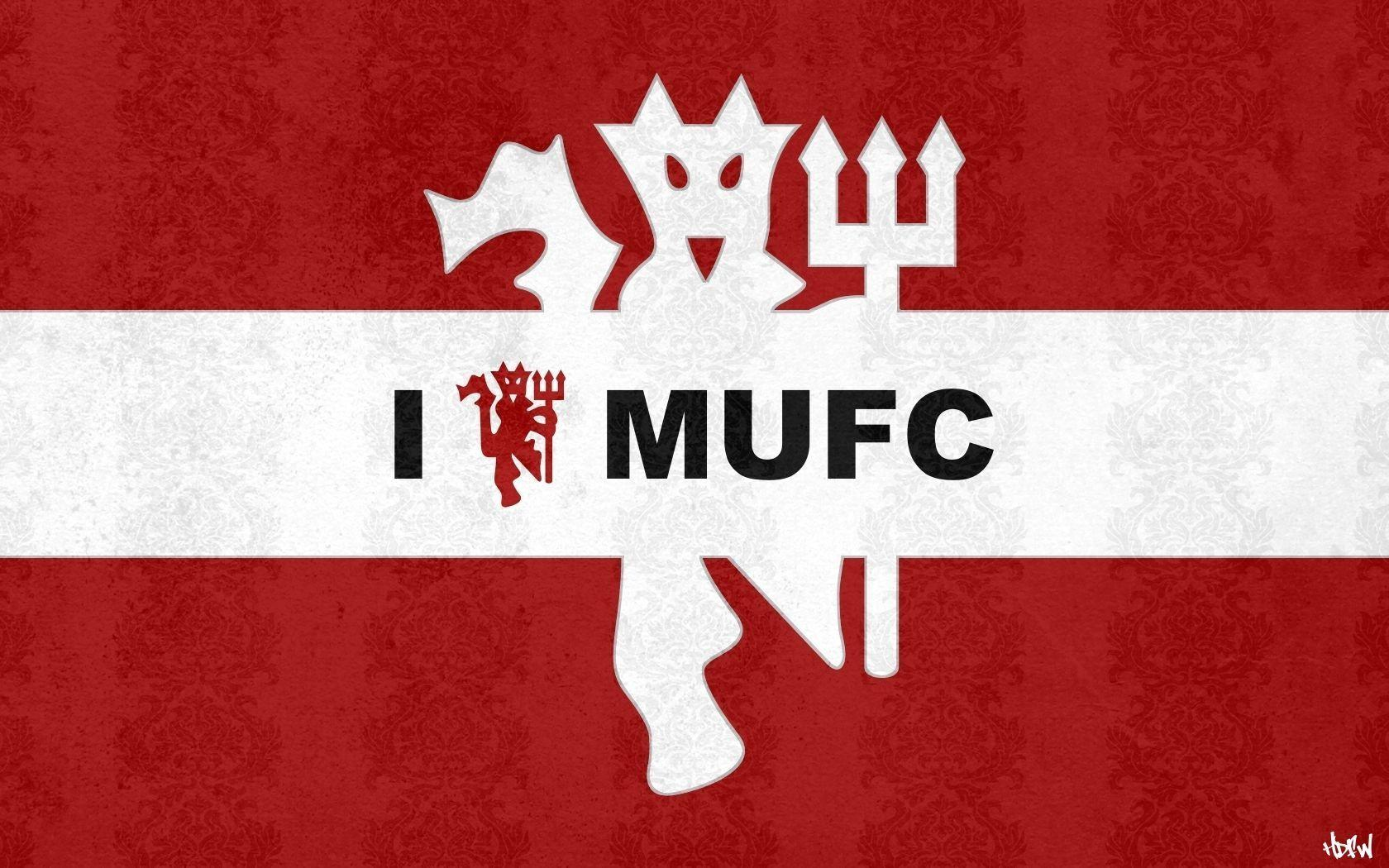 Manchester United Logo 3D Picture HD Wallpapers Desktop Backgrounds