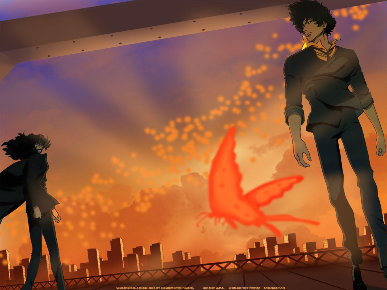Spike Spiegel Cowboy Bebop Black And White Wallpapers Wide
