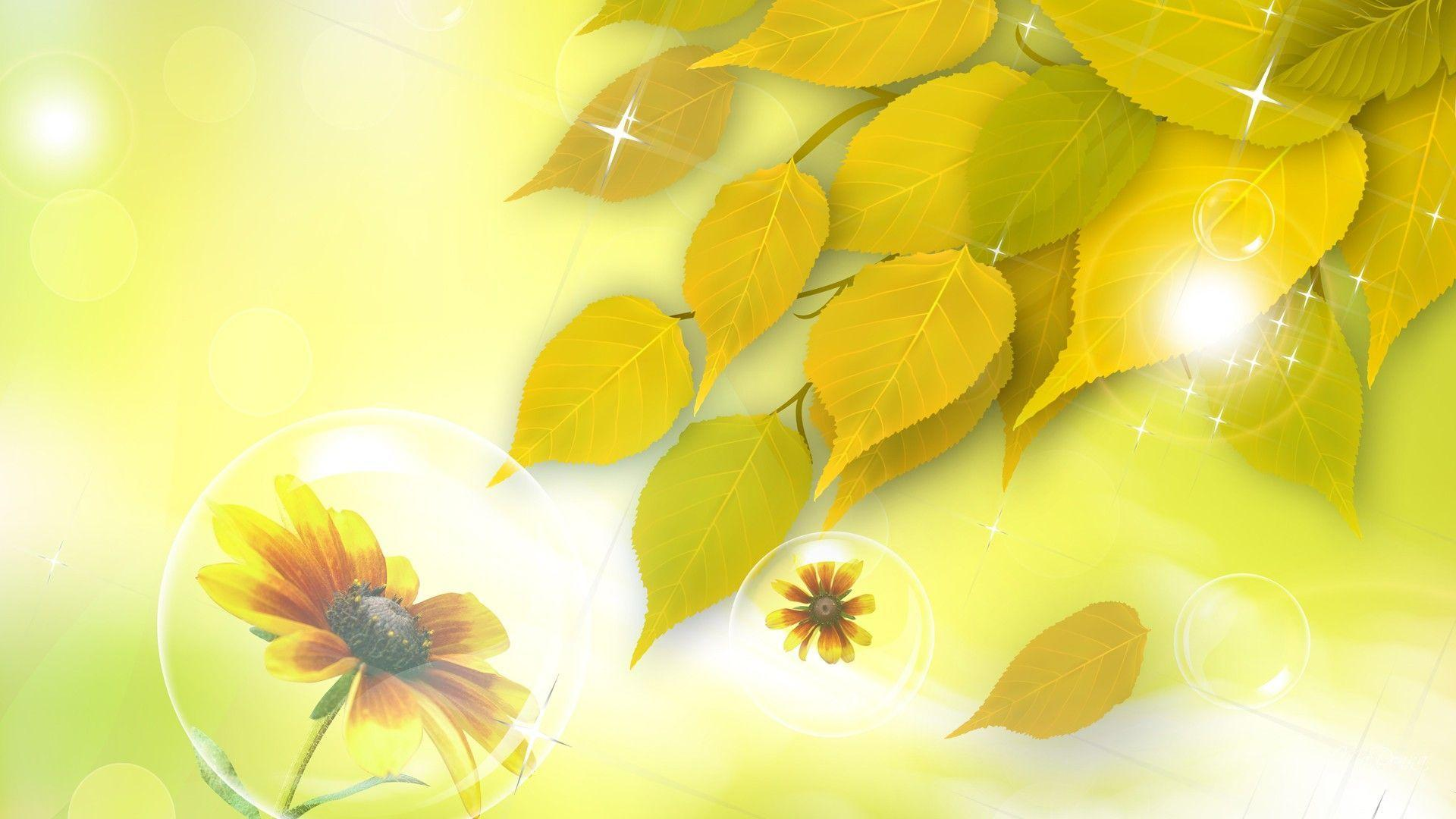 fall flowers wallpaper by - photo #31