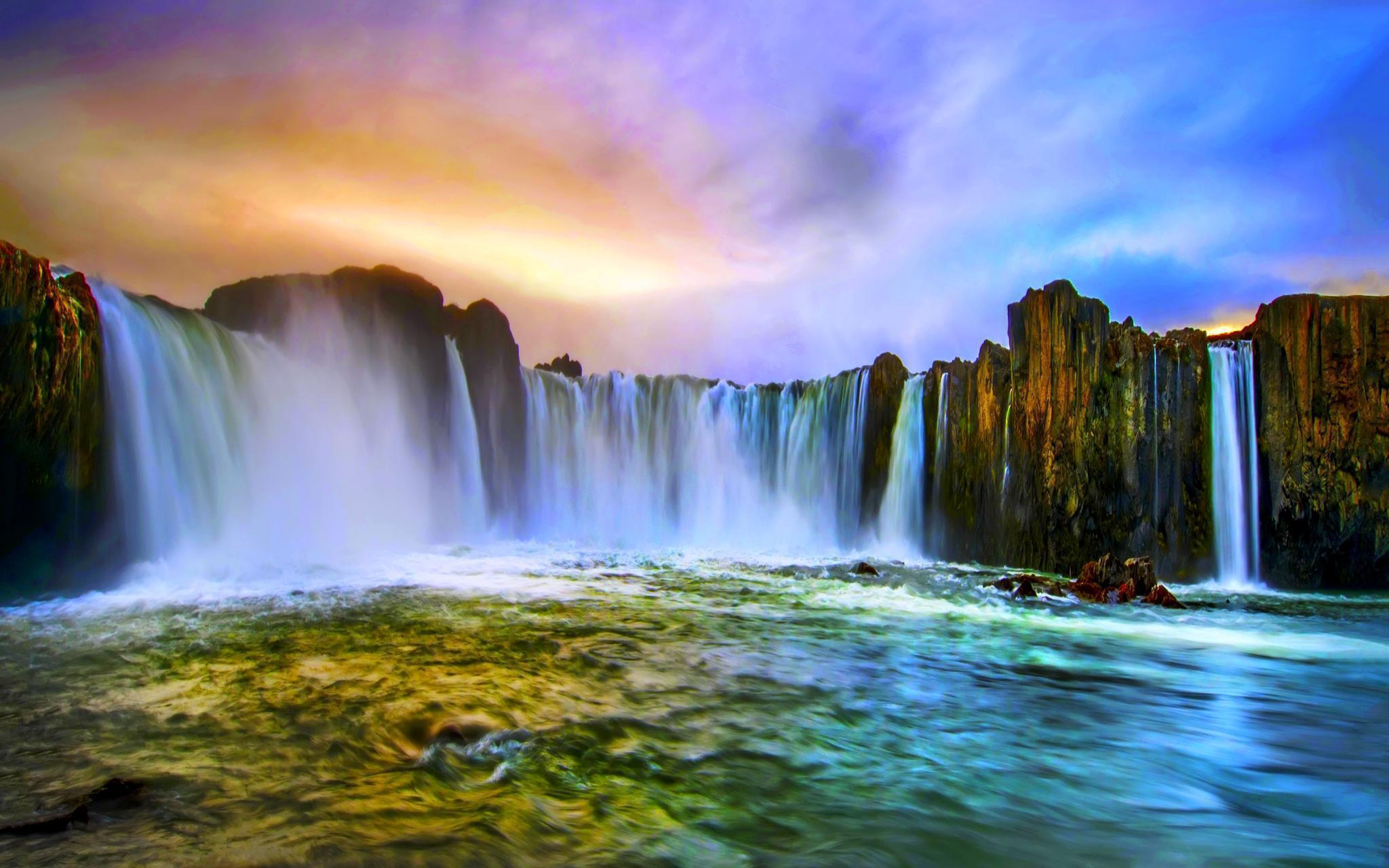 Water Falls Wallpapers