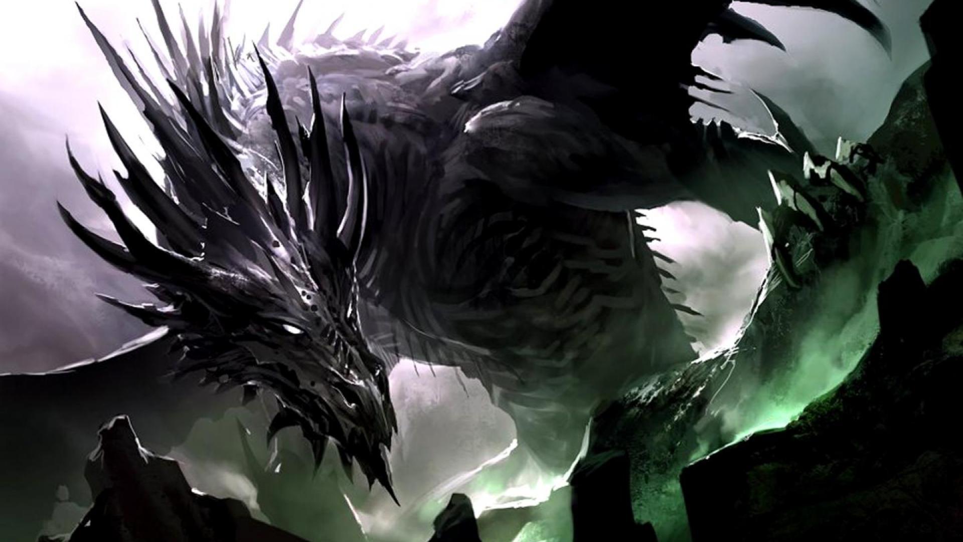 Wallpapers For Dark Dragon Wallpaper