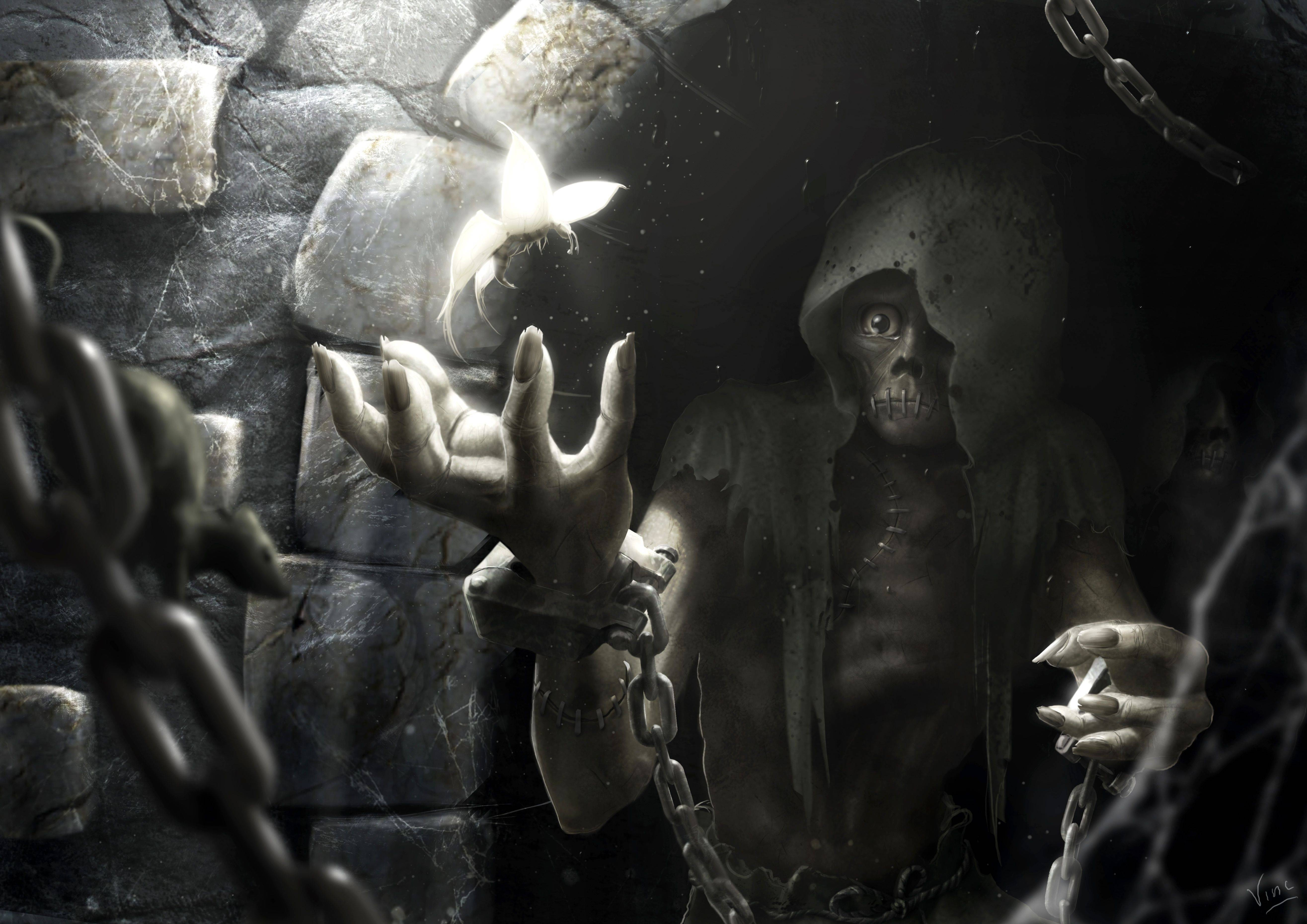 Dark Grim Reaper Wallpapers Wallpaper Cave
