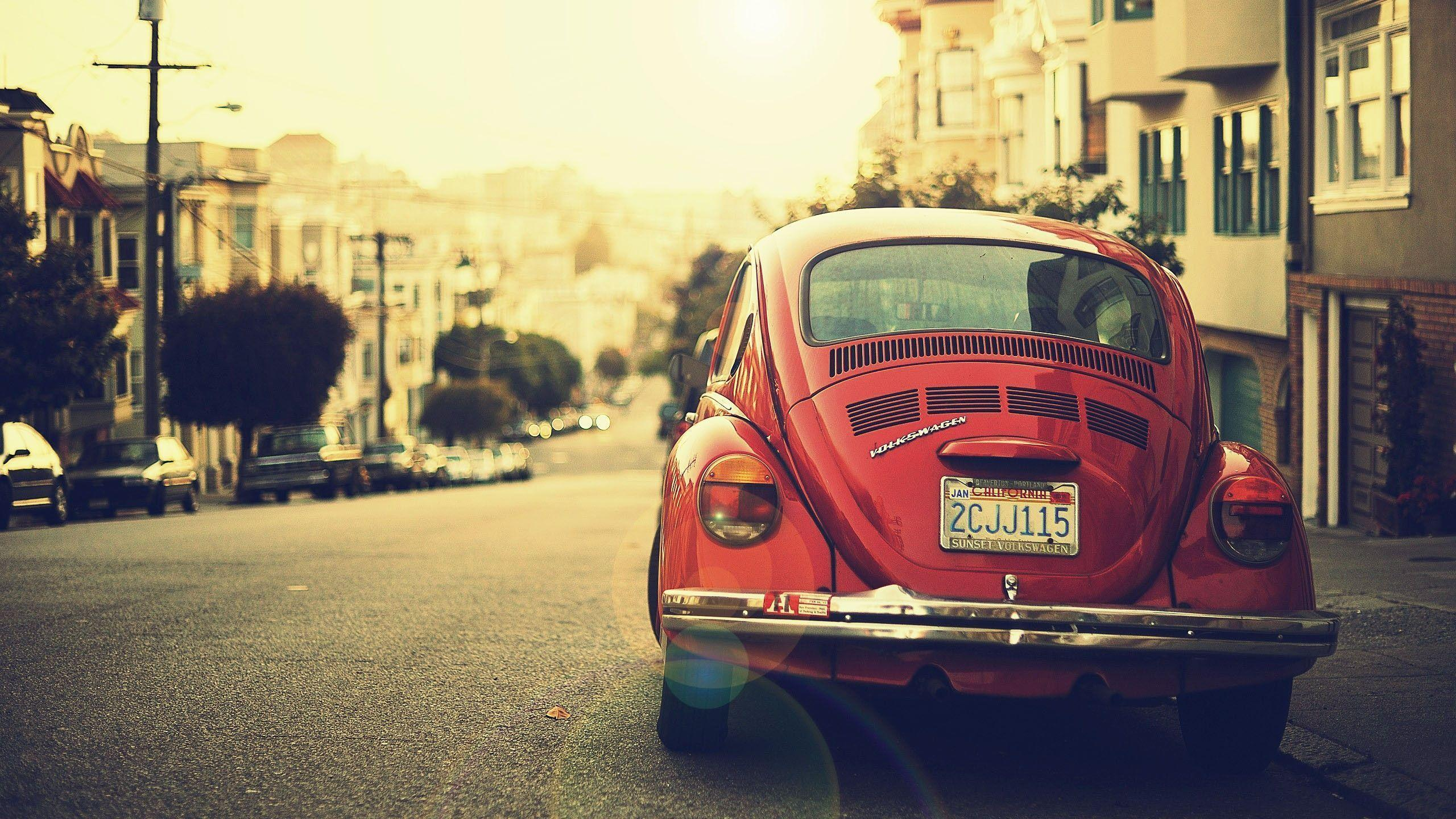 Volkswagen Beetle Vintage Photography HD Wallpapers Is a Awesome