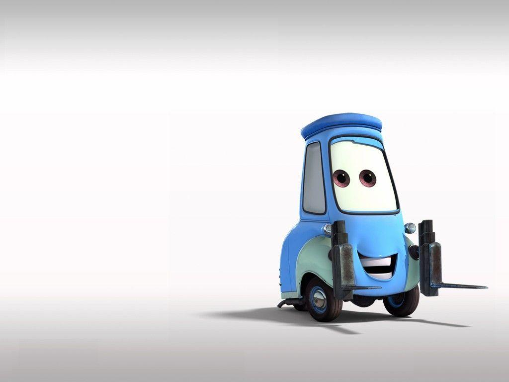 Wallpapers > Animated movie wallpaper > CARS - GUIDO CARTOON ...