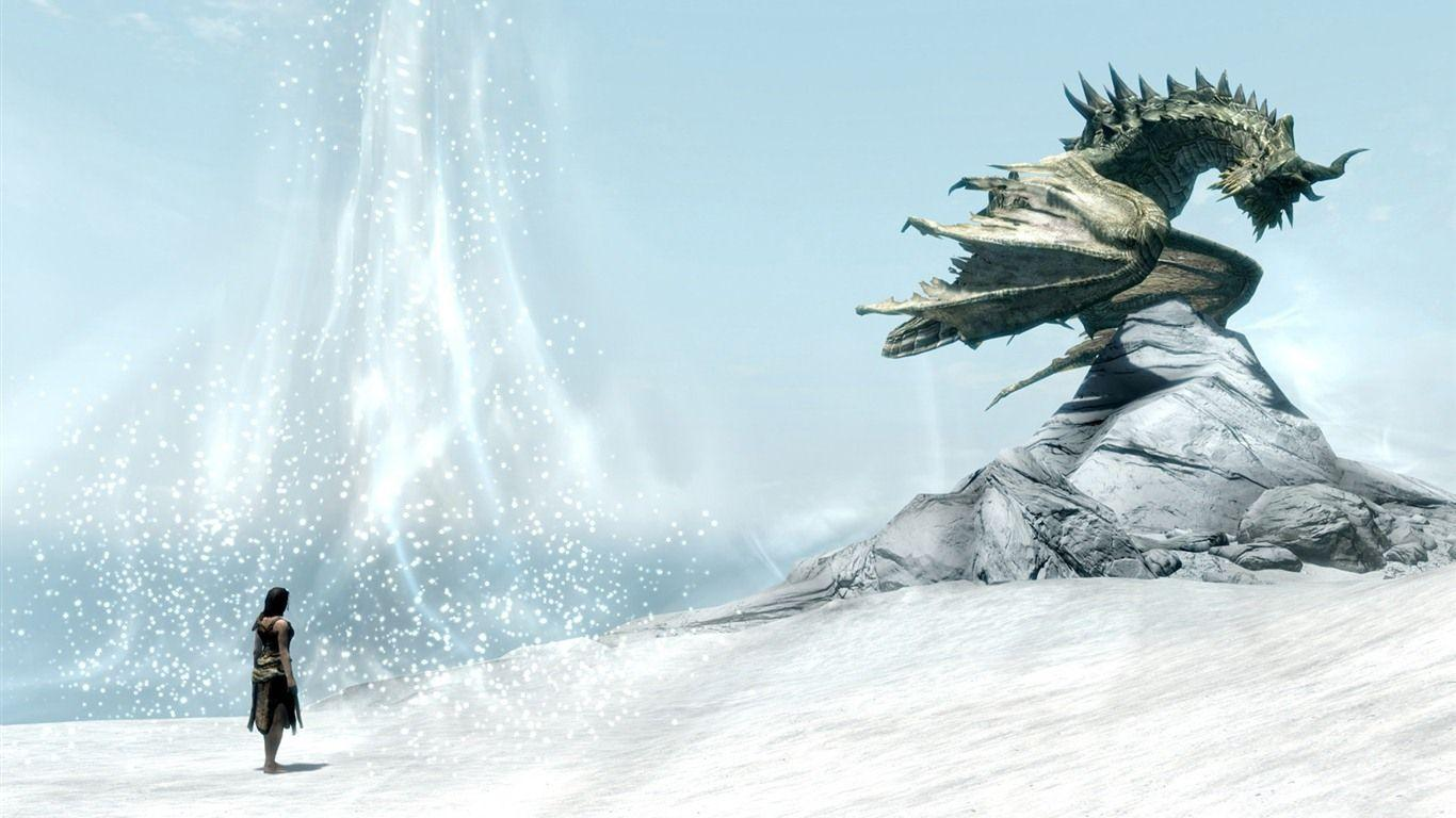 skyrim hd wallpapers 1366x768 - photo #5
